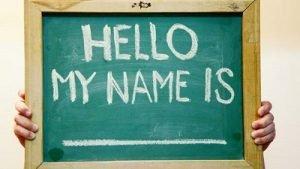 choose a fitting username